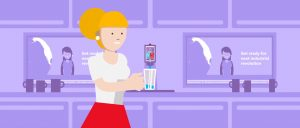 2D character animation image 16 for Microsoft Innovation - manufacturing project