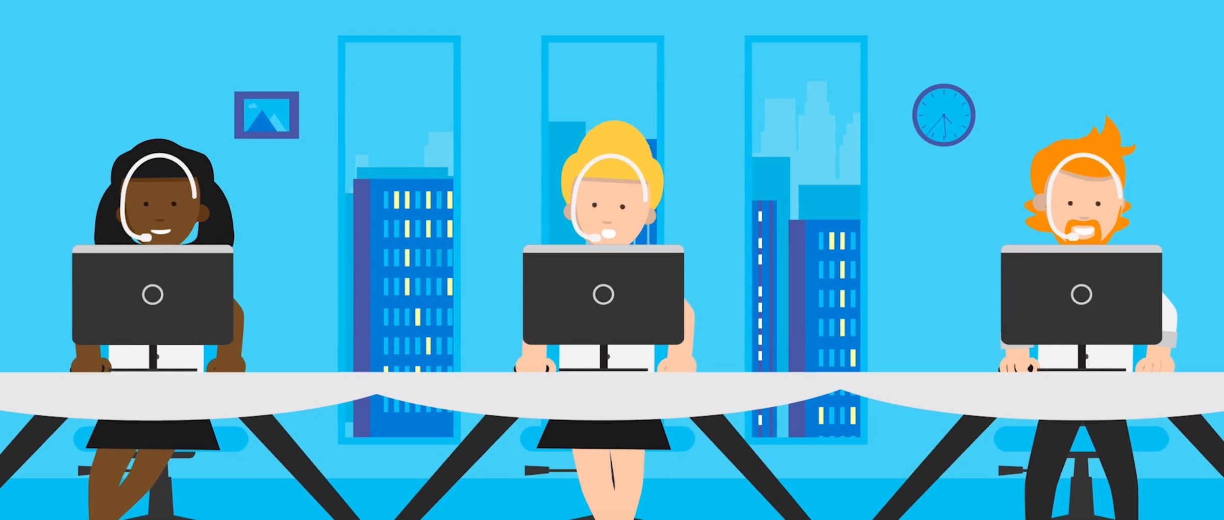 2D character animation image 6 for Microsoft Innovation - manufacturing project