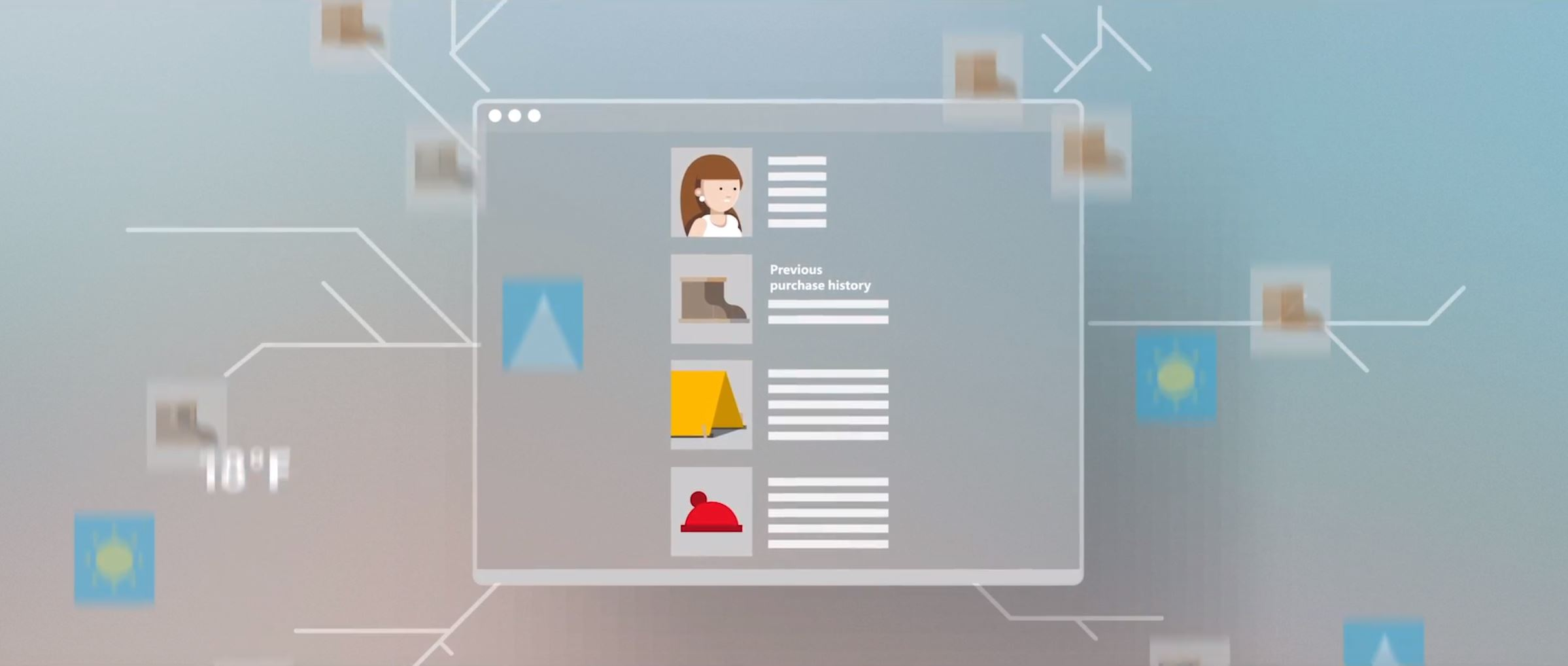 2D character animation image 11 for Microsoft Innovation - retail project