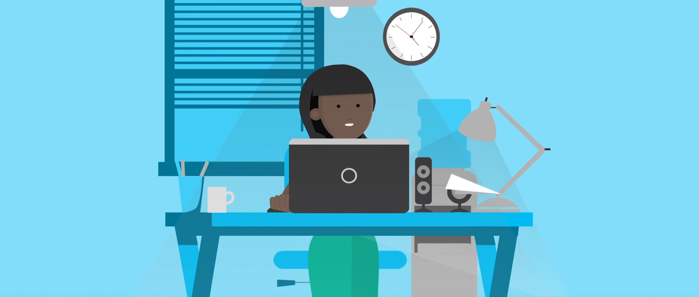 2D character animation image 3 for Microsoft Innovation - retail project
