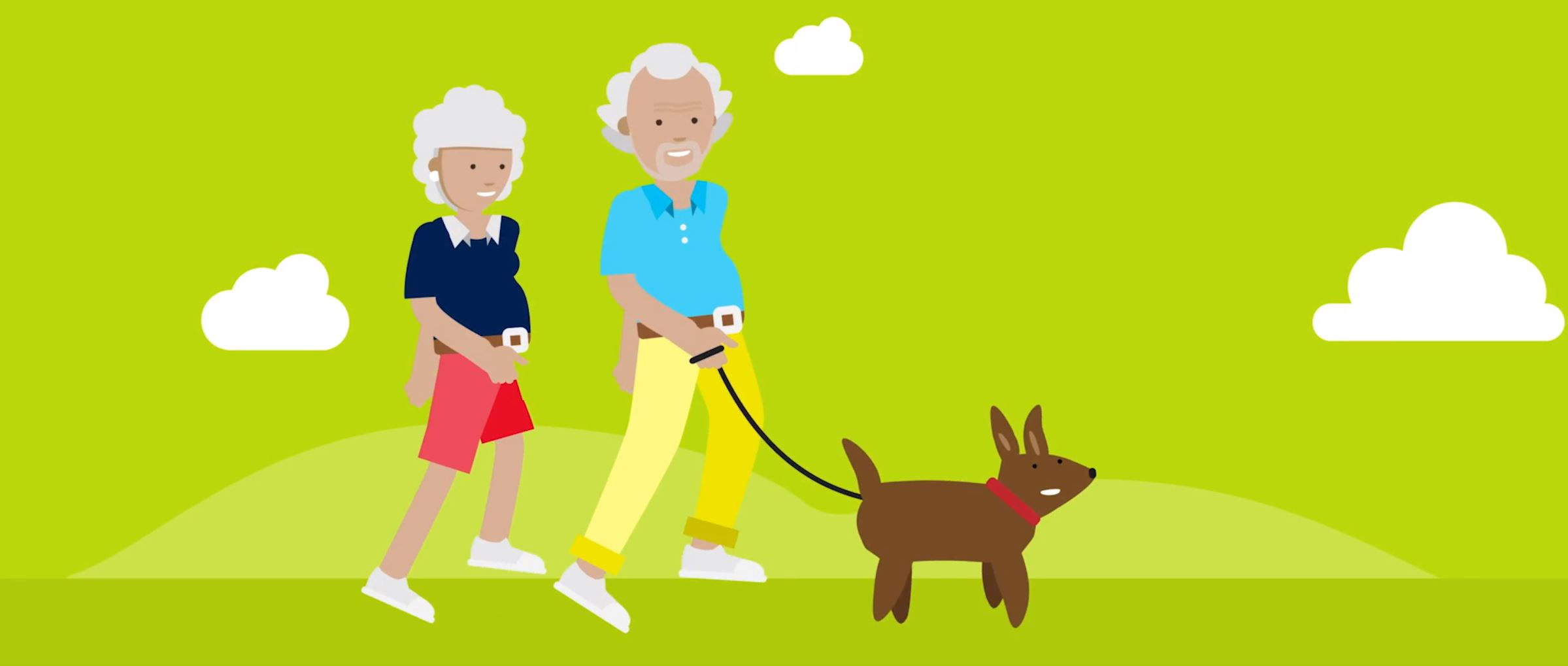 2D character animation image 9 for Microsoft Innovation - health project