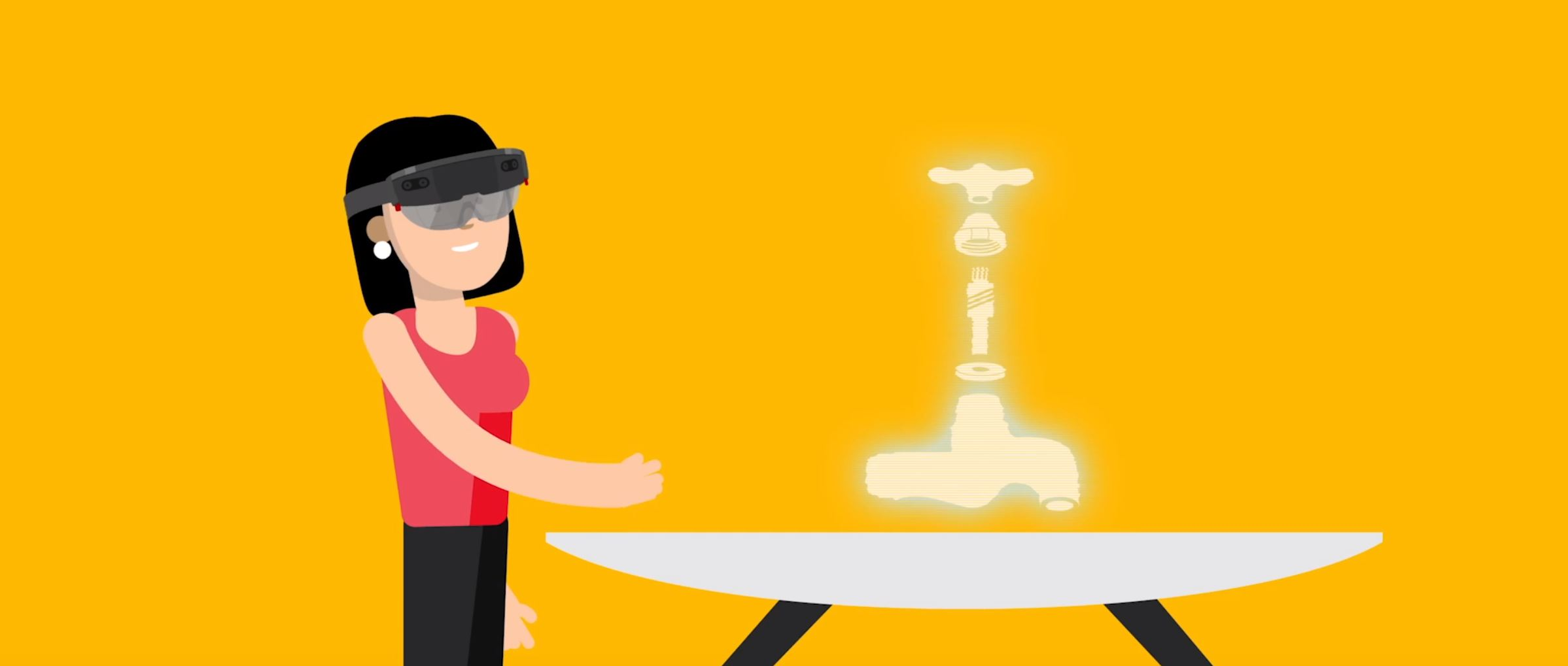 2D character animation image 3 for Microsoft Innovation - manufacturing project