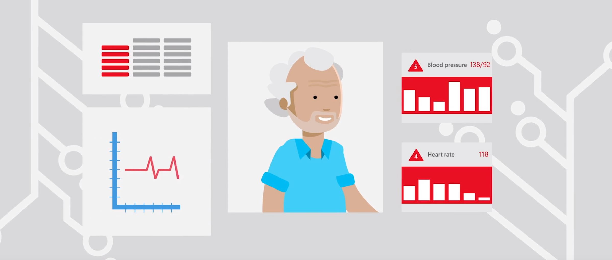 2D character animation image 7 for Microsoft Innovation - health project