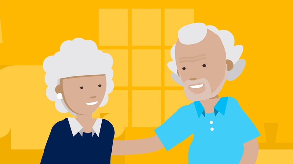 2D character animation image 10 for Microsoft Innovation - health project